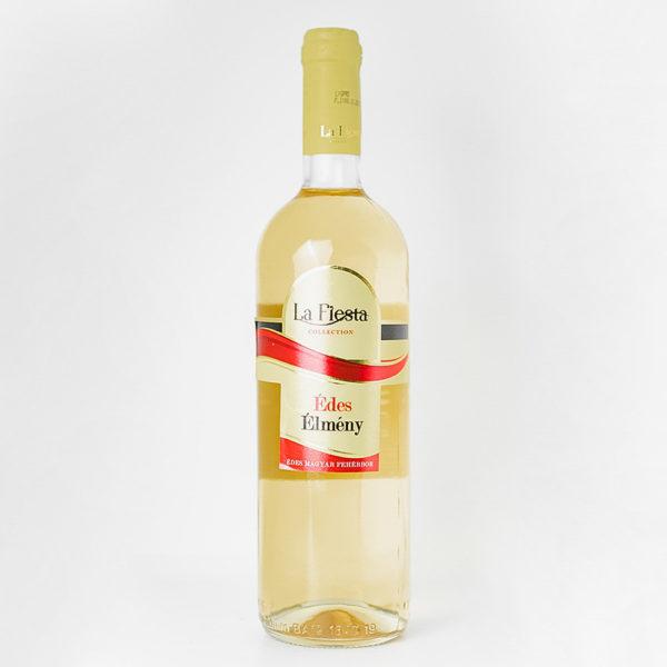 LaFiesta Édes Élmény Fehér Cuvée édes bor 075vv vásárlás