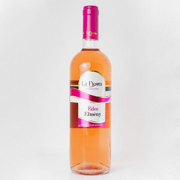 LaFiesta Édes Élmény Rosé édes bor 075vv vásárlás