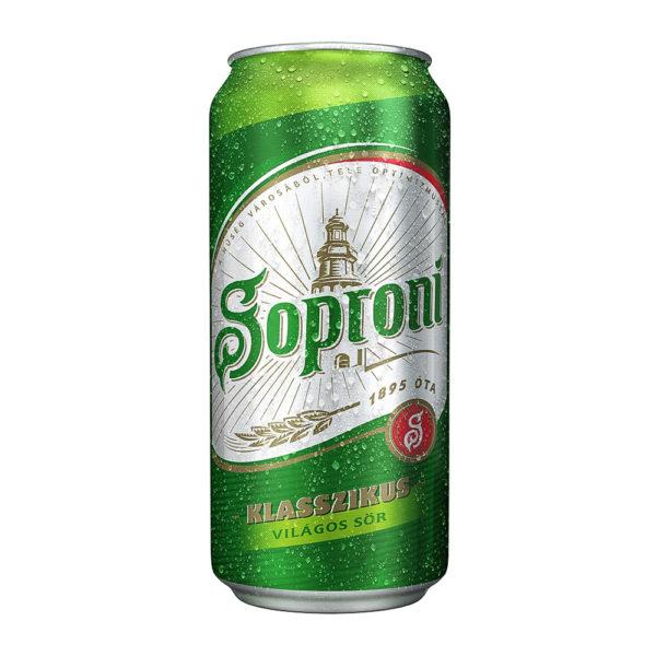 Soproni sör 05 dobozos 45 1 vásárlás