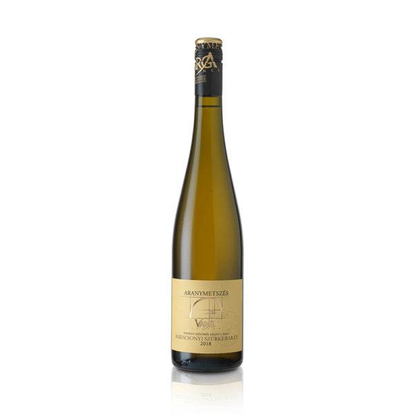 Aranymetszés Badacsonyi Szürkebarát Későiszüret édes fehér bor 075 vásárlás