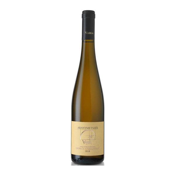 Aranymetszés Debrői Hárslevelű Későiszüret édes fehér bor 075 vásárlás