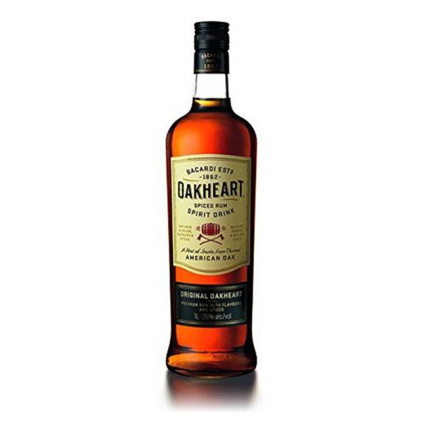 Bacardi Oakheart 10 rum 35 vásárlás