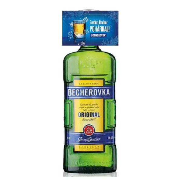Becherovka 07 keserűlikőr pohár 38 vásárlás