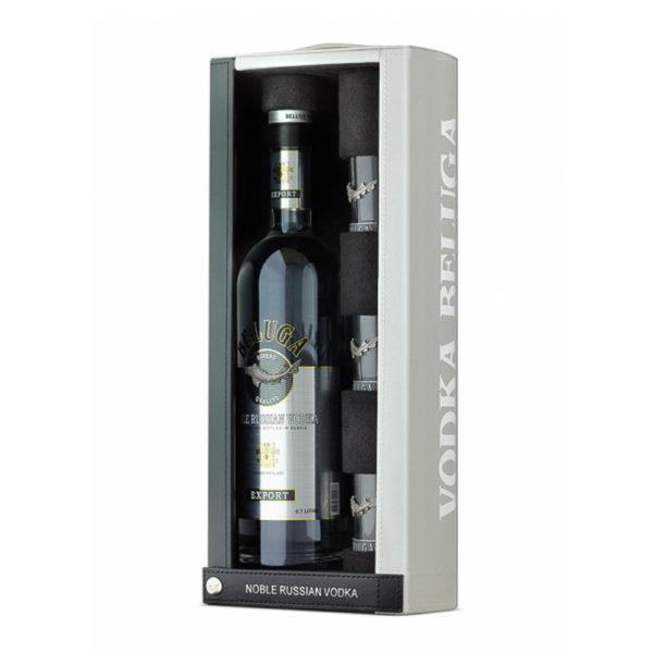 Beluga Noble 07 Vodka bőr dd. 3 pohár 40 vásárlás