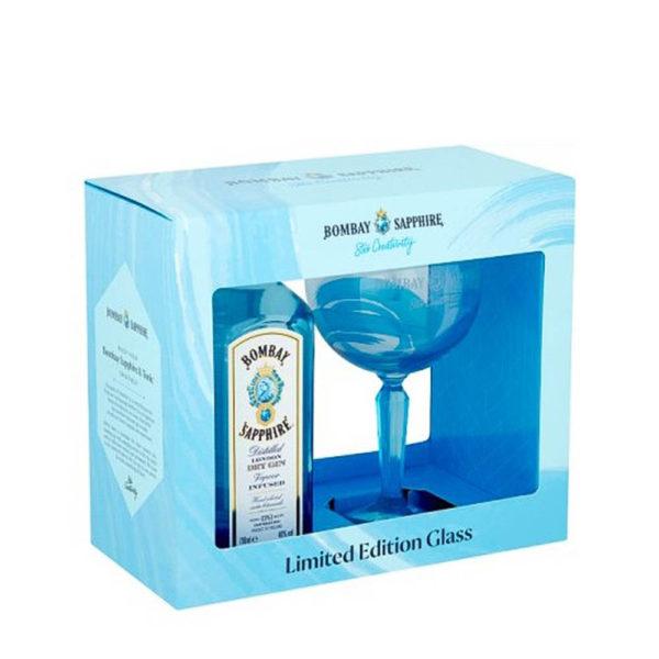 Bombay Sapphire Gin 07 dd. pohár 40 vásárlás