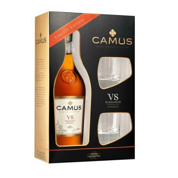 Camus VS. francia konyak 07 pdd. 2 pohár 40 vásárlás