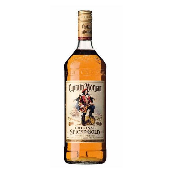 Captain Morgan Spiced Gold 10 rum 40 vásárlás