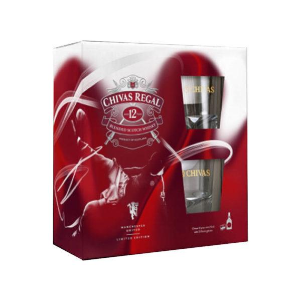 Chivas Regal 12 éves whisky pdd. 2 pohár vásárlás