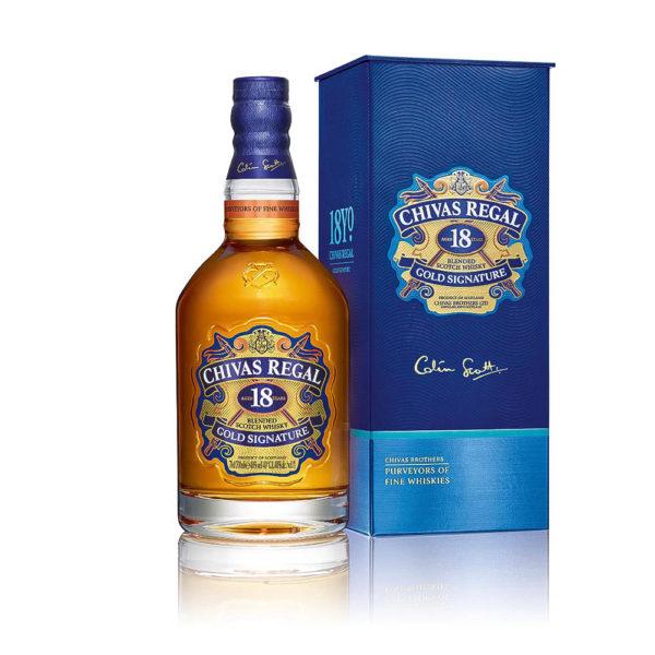 Chivas Regal 18 éves 07 pdd. whisky 40 vásárlás