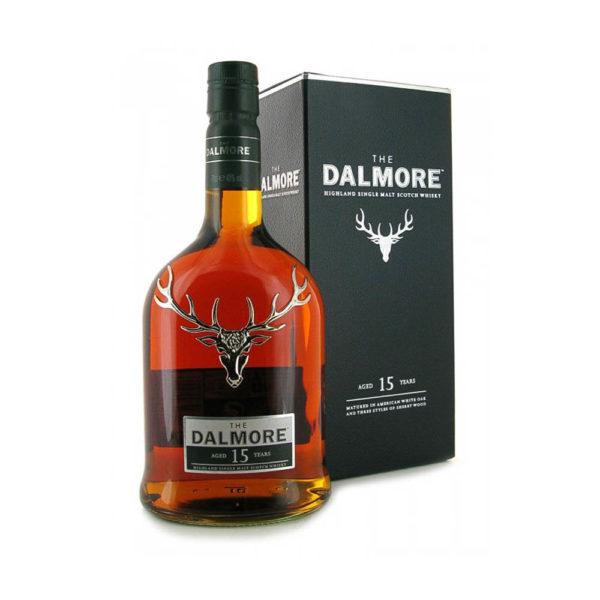 Dalmore 15 éves Single Malt whisky 07 dd. 40 vásárlás