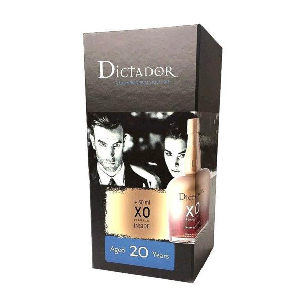 Dictador 20 éves 07 XO 005 pdd. 40 vásárlás