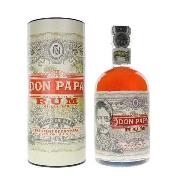 Don Papa rum 07 dd. 40 vásárlás