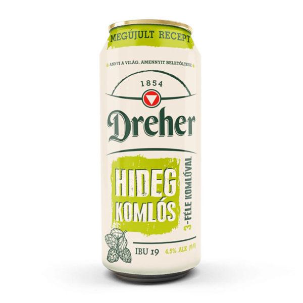 Dreher Hidegkomlós sör 05 dobozos 45 vásárlás