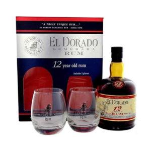 El Dorado 12 éves rum 07 pdd. 40 2 pohár vásárlás