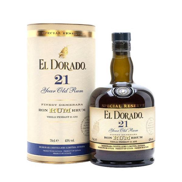 El Dorado 21 éves rum 07 pdd. 43 vásárlás
