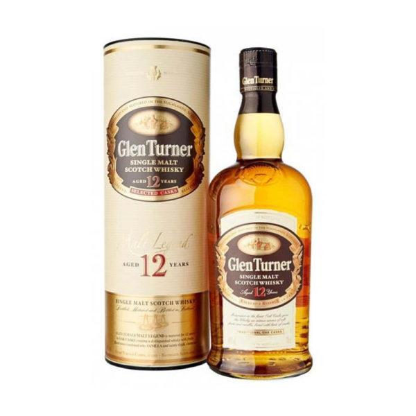 Glen Turner Legend 12 éves Single Malt Whisky 07dd. 40 vásárlás