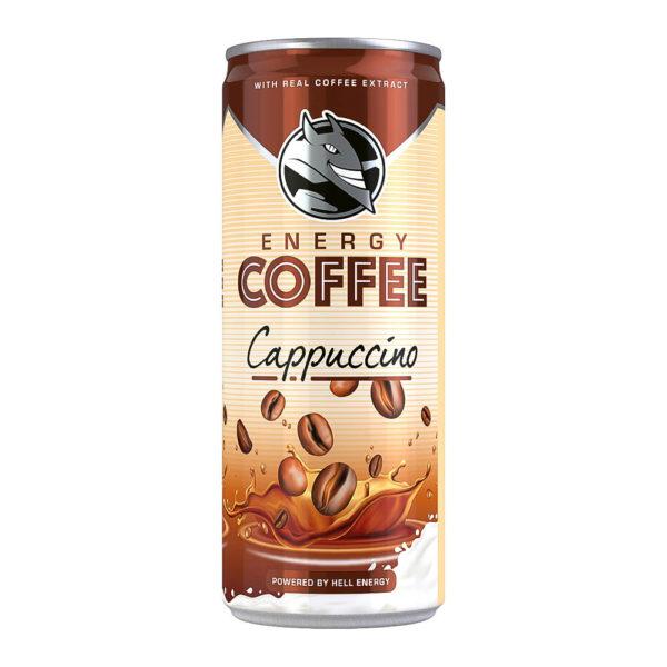 Hell Energy Coffee Cappuccino 025 dobozos vásárlás