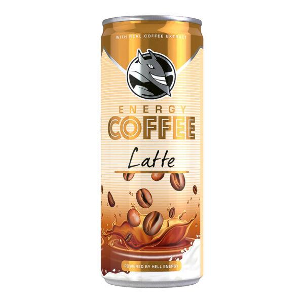 Hell Energy Coffee Latte 025 dobozos vásárlás