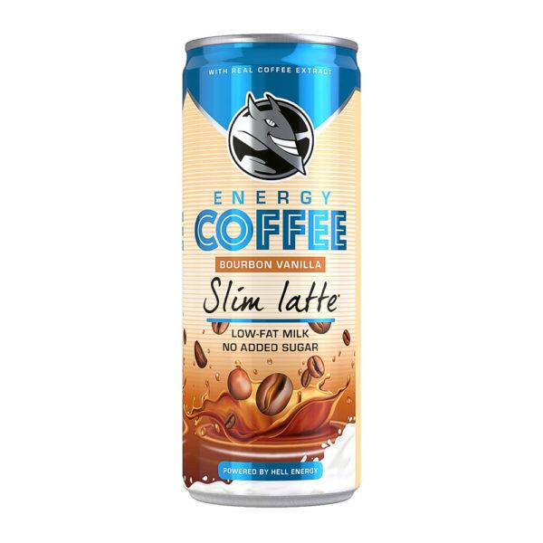 Hell Energy Coffee Slim Latte 025 dobozos vásárlás