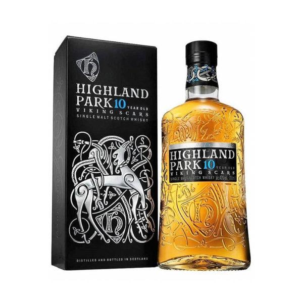 Highland Park Single Malt whisky 10 éves 07pdd. 40 vásárlás