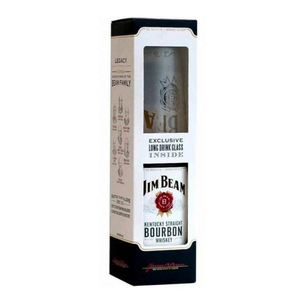 Jim Beam 07 dd. pohár Bourbon whiskey 40 vásárlás