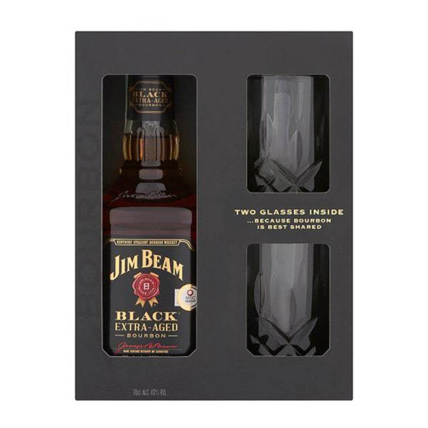 Jim Beam Black Label 07 dd. 2 pohár Bourbon whiskey 43 vásárlás