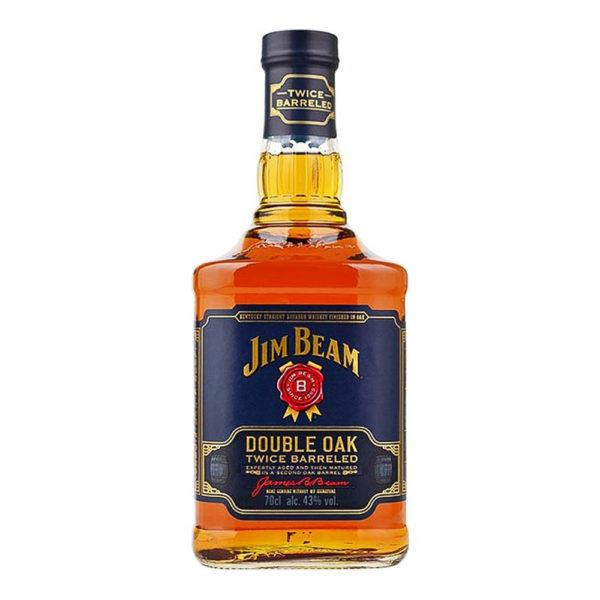 Jim Beam Double Oak 07 Bourbon whiskey 43 vásárlás