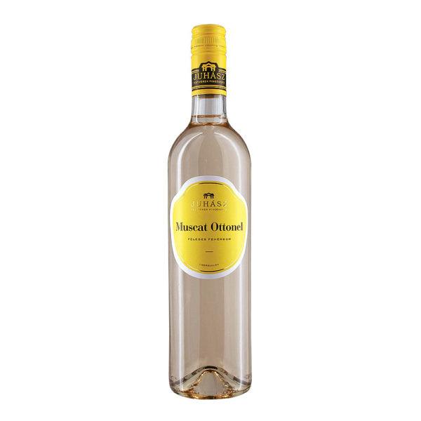 Juhász Testvérek Muscat Ottonel 2019 félédes fehér bor 075 vásárlás