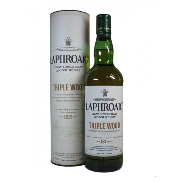 Laphroaig Triple Wood Single Malt whisky 07dd. 48 vásárlás