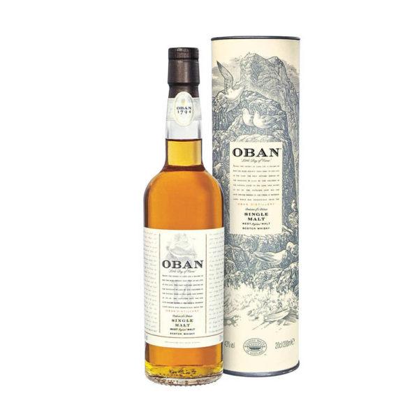 Oban 14 éves Single Malt Whisky 43 07 pdd vásárlás