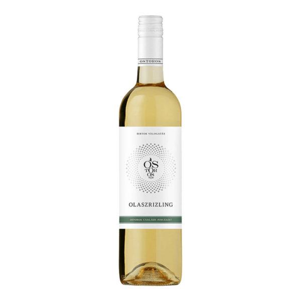 Ostoros Egri Olaszrizling száraz fehér bor 075 vásárlás