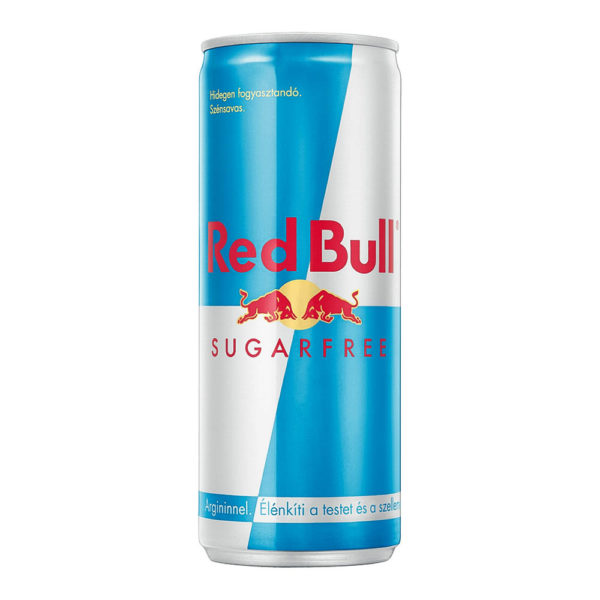 Red Bull Sugarfree cukormentes energy drink 025 dobozos vásárlás
