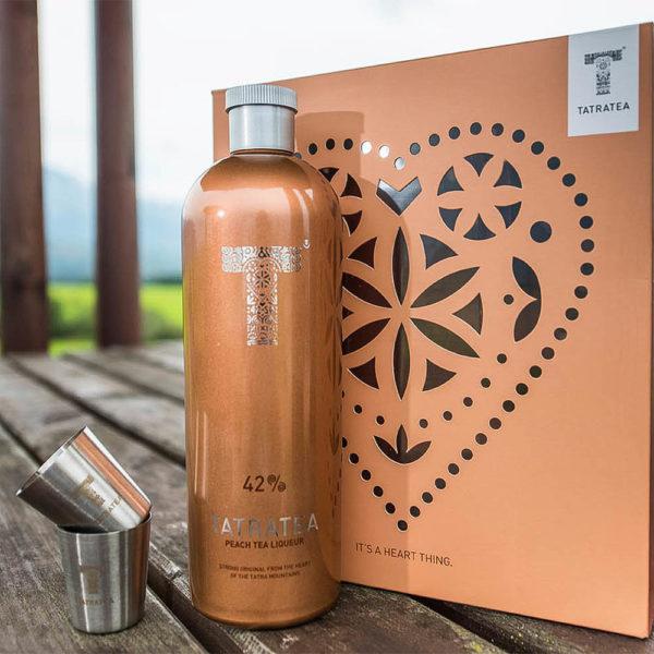 Tatratea 070 Őszibarackos tea likőr dd. 2 pohár 42 vásárlás