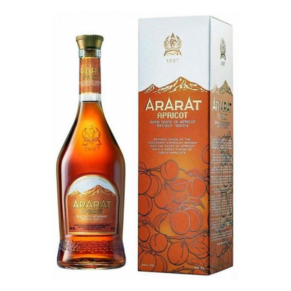 Ararat Apricot örmény konyak 05 dd. 35 vásárlás