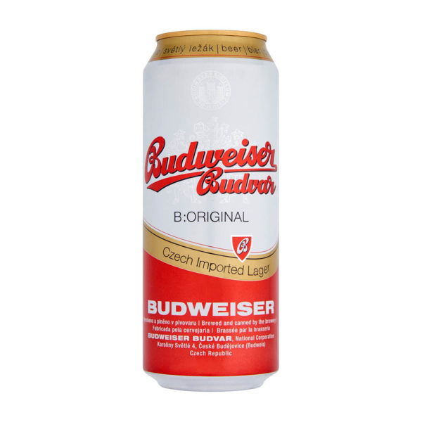 Budweiser Budvar Premium Lager 05 dobozos sör 5 vásárlás
