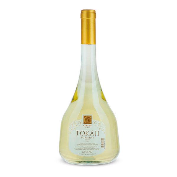 CORVUS Tokaji Furmint félédes fehérbor 075 franciapalackos vásárlás