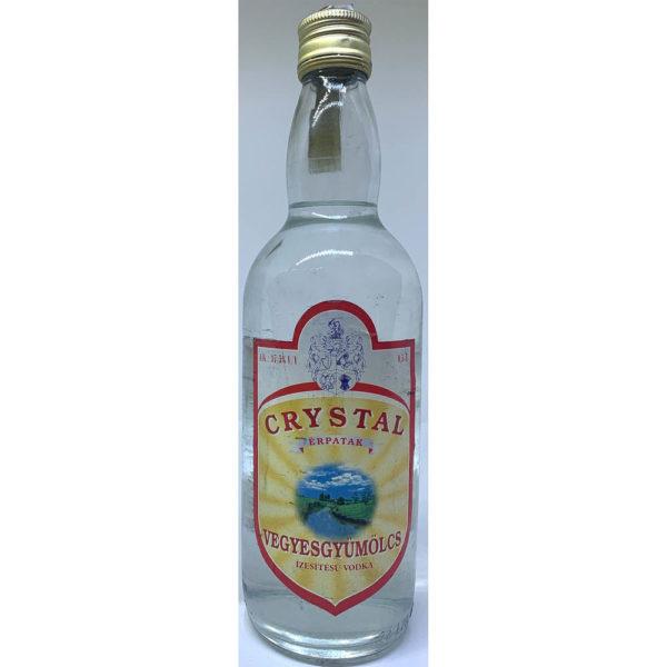 Crystal Vegyesgyümölcs ízesítésű vodka 05 vv. 375 vásárlás