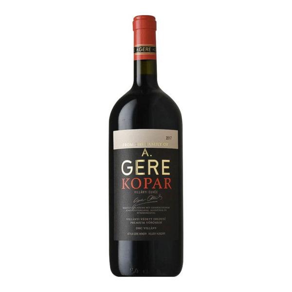 Gere Attila Villányi KOPAR Cuvée 2017. száraz vörösbor 15 vásárlás