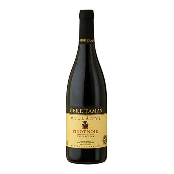 Gere Tamás Pinot Noir száraz vörösbor 075 vásárlás