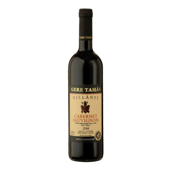 Gere Tamás Villányi Cabernet Sauvignon 2016. száraz vörösbor 075 vásárlás