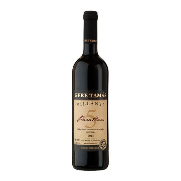 Gere Tamás Villányi Páratlan Cuvée száraz vörösbor 075 vásárlás