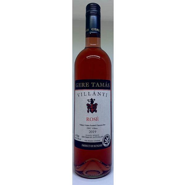 Gere Tamás Villányi Rosé 2019. száraz bor 075 vásárlás