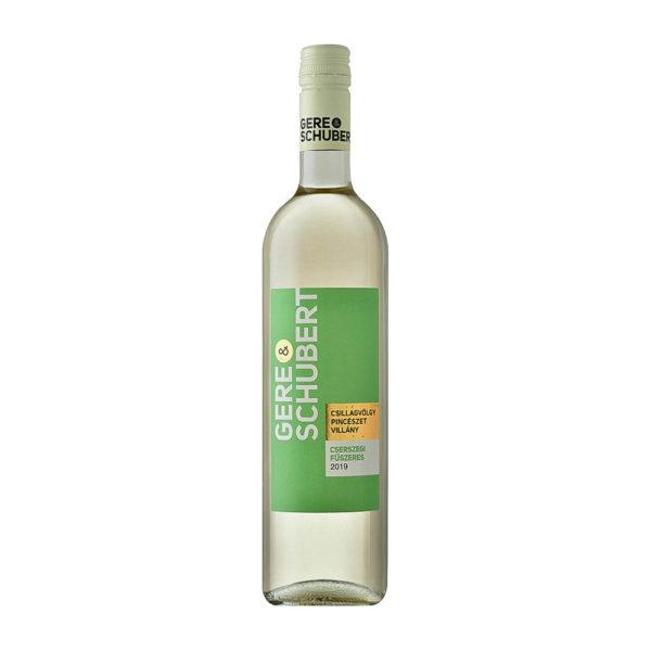 Gere Schubert Cserszegi Fűszeres 2019. száraz fehérbor 075 vásárlás