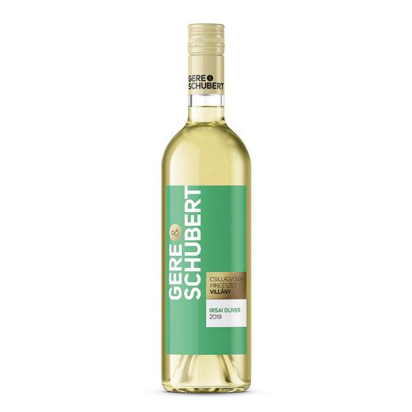 Gere Schubert Irsai Olivér 2019. száraz fehérbor 075 vásárlás