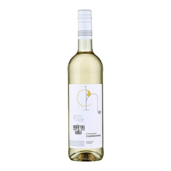 György Villa Etyek Budai Chardonnay 2018. száraz fehérbor 075 vásárlás