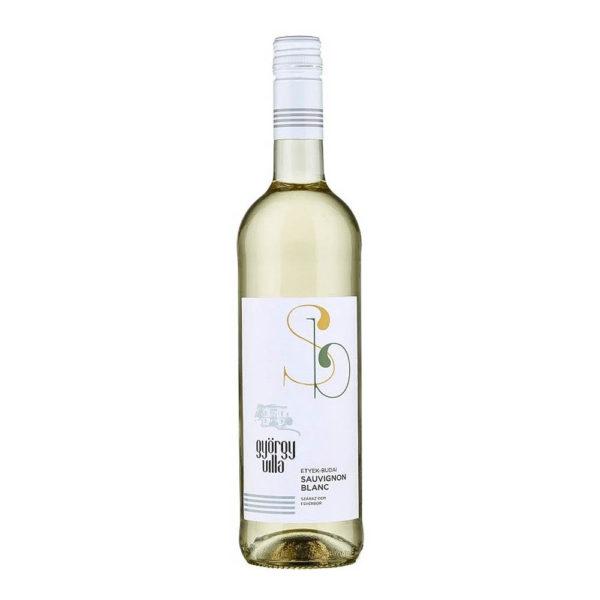 György Villa Etyek Budai Sauvignon Blanc 2018. száraz fehérbor 075 vásárlás