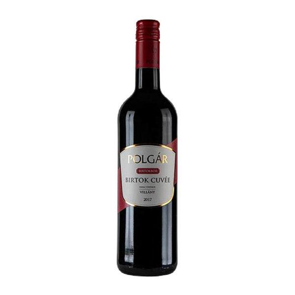 Polgár Birtok Cuvée 2017. száraz vörösbor 075 vásárlás