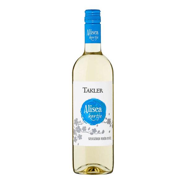Takler Alisca kertje Szekszárdi Fehér Cuvée 2017. száraz fehérbor 075 vásárlás