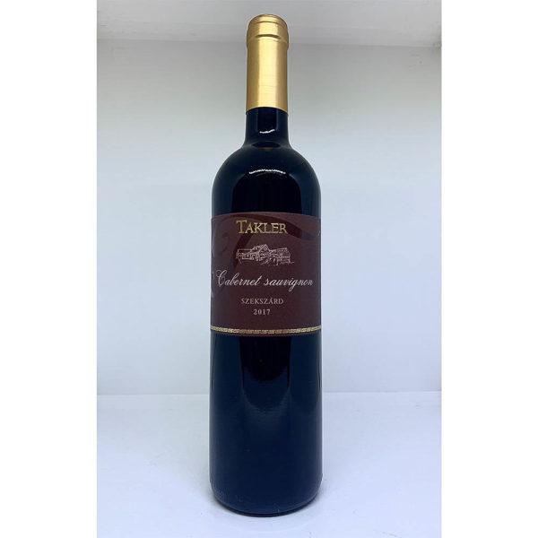 Takler Szekszárdi Cabernet Sauvignon 2017. száraz vörösbor 075 vásárlás