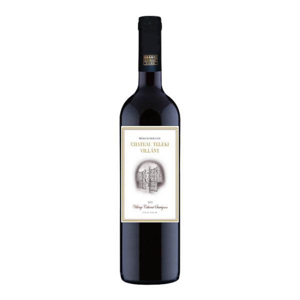 Teleki Chateau Villányi Cabernet Sauvignon száraz vörösbor 075 vásárlás
